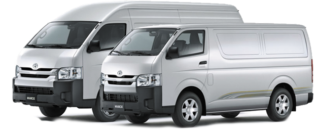 Hiace Front View
