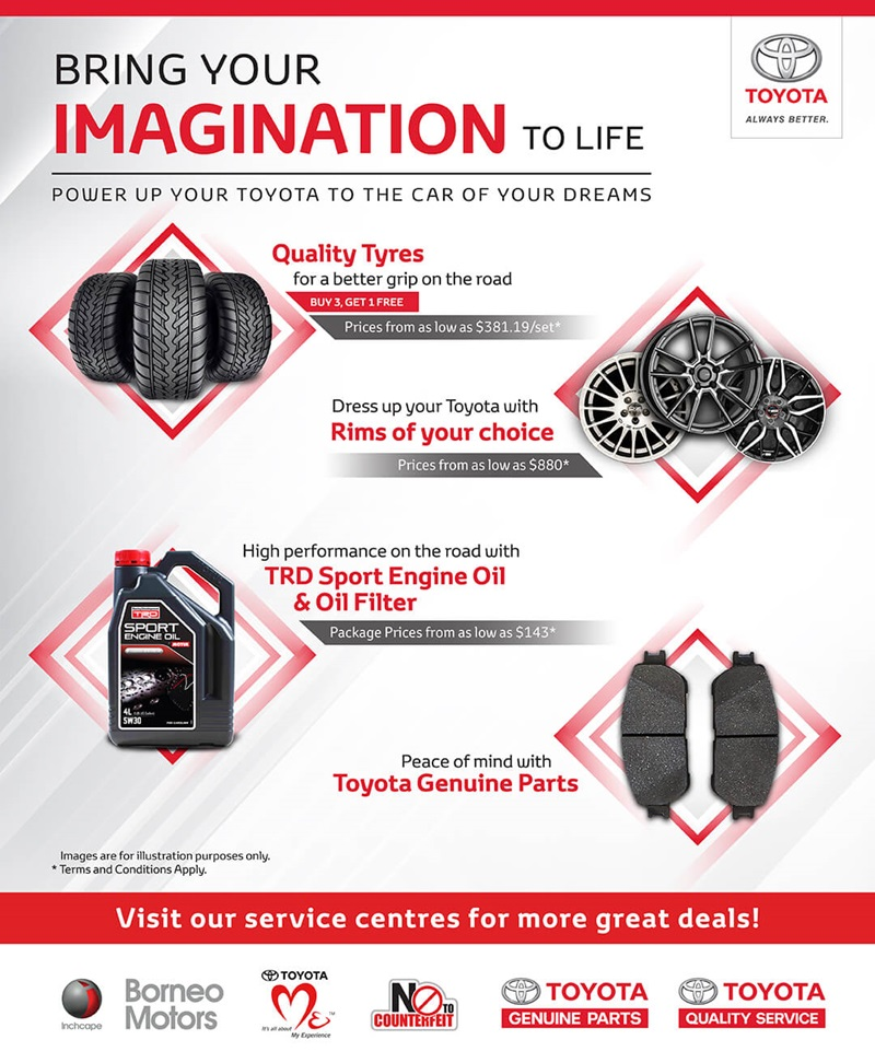 Toyota Parts and Accessories Sale