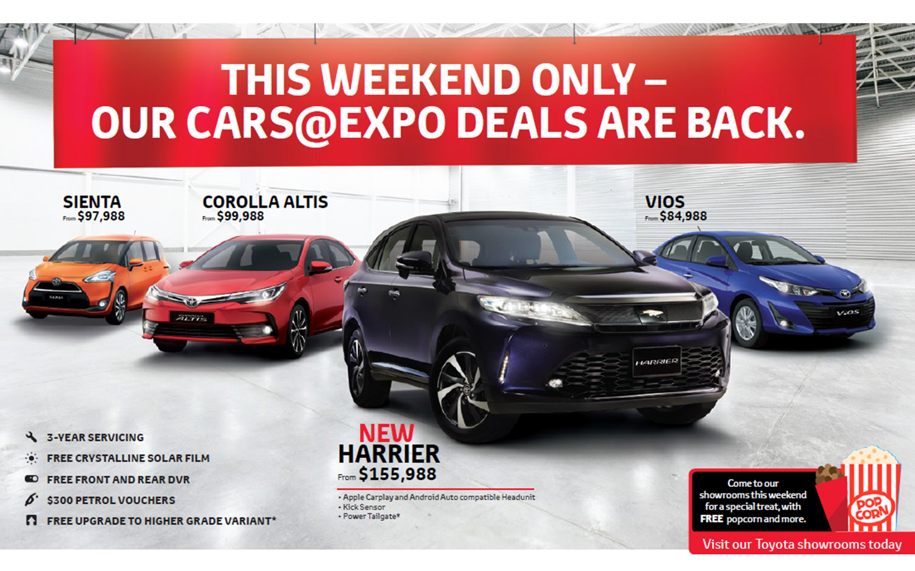 Toyota weekend sale May