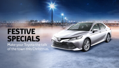 Toyota Tyres and Platinum Shine Festive Promotion