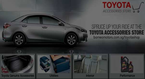 Toyota Parts and Accessories   Borneo Motors Singapore