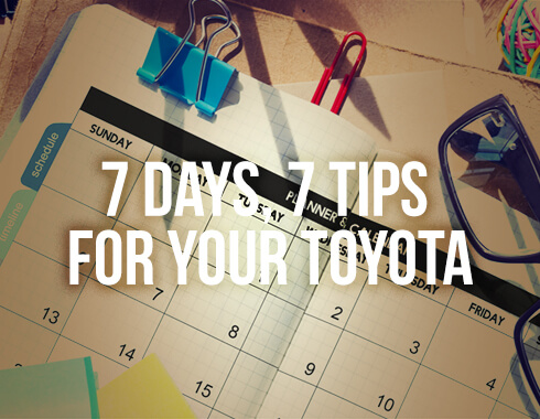 Toyota Car Care Tips