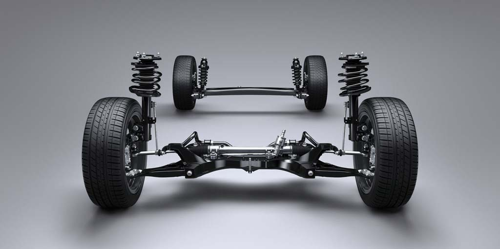 Toyota Corolla - Lightweight Suspension