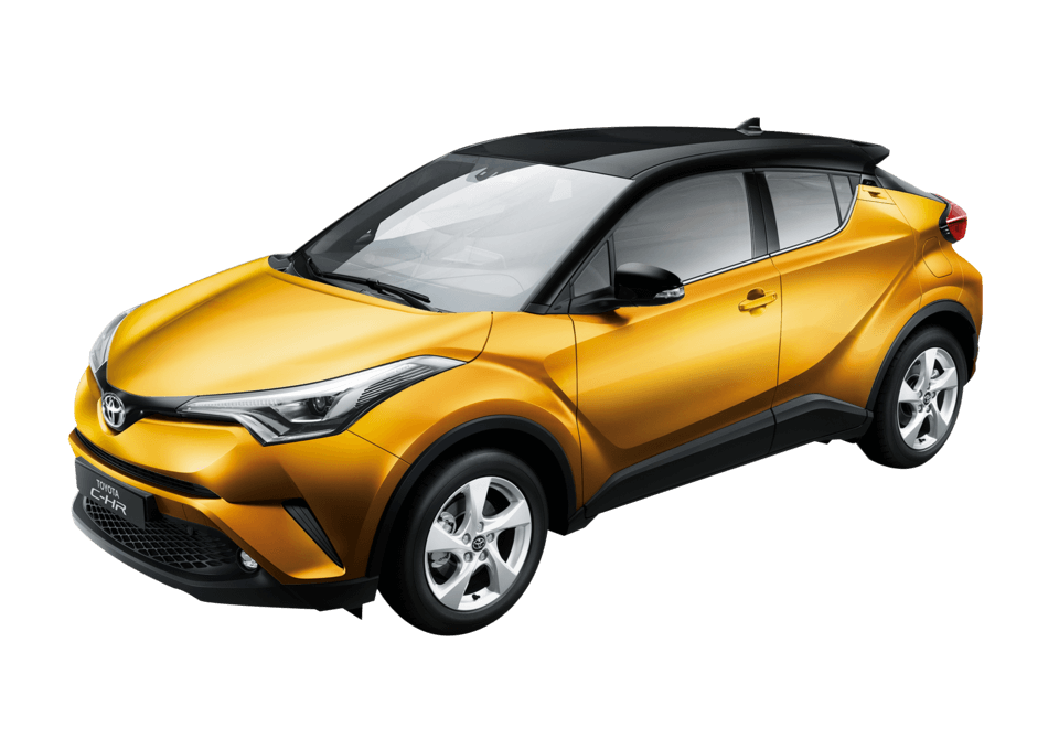 Toyota C-HR Luxury (Dual-tone)