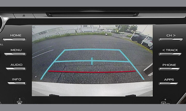 Toyota Camry Rear View Camera