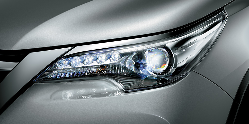 Toyota Fortuner - LED Headlamps