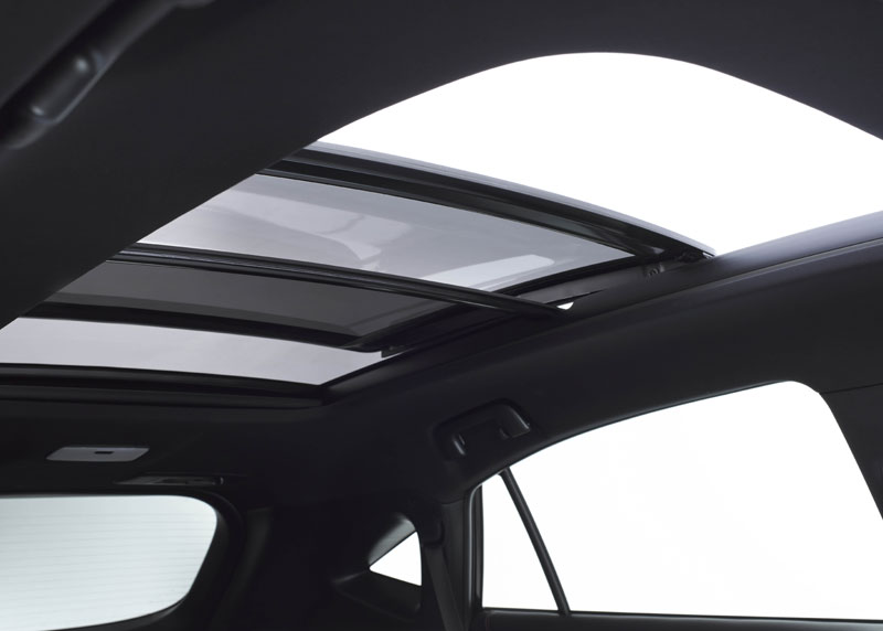 twin sunroof