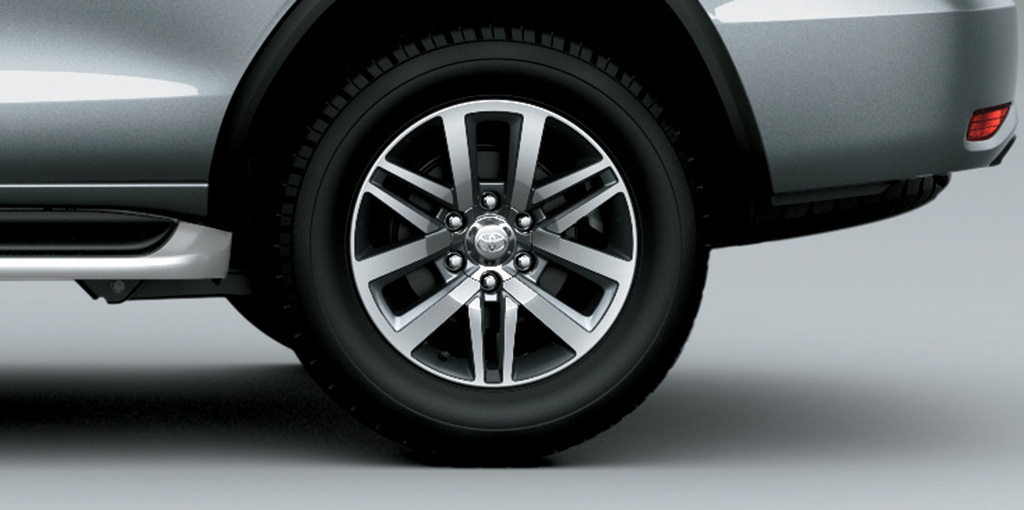 Toyota Fortuner - New Aluminium Rims