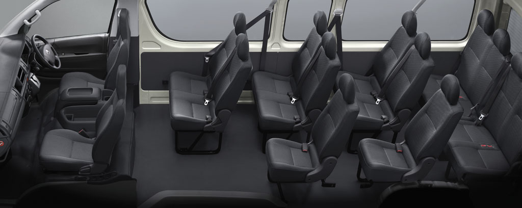 Toyota Hiace Van Powerful Economical And Trustworthy