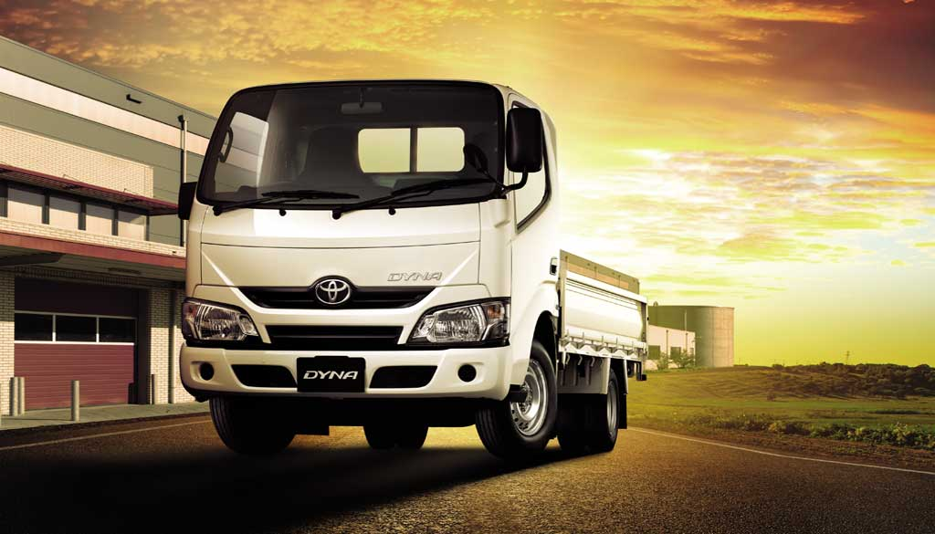 Toyota Dyna Truck With Class Leading Payload