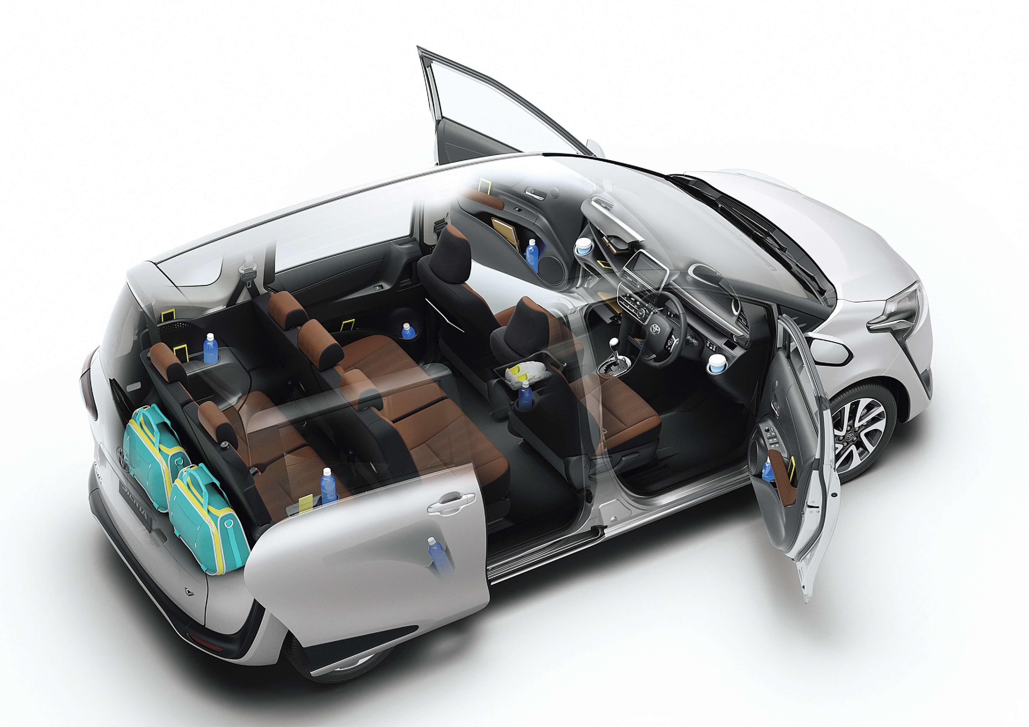 Toyota Sienta 7 Seater Mpv Family Car