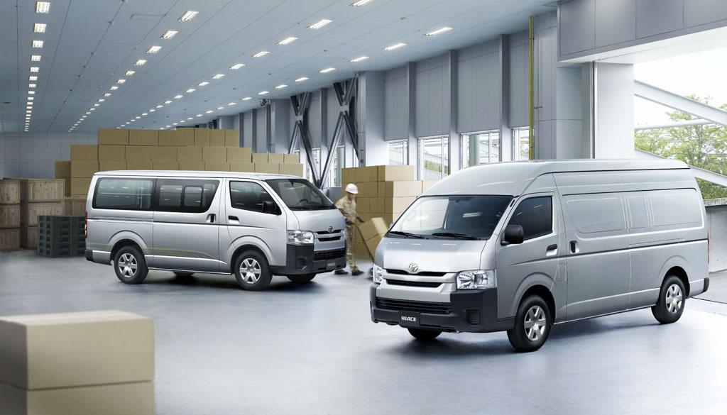 Toyota Hiace Van Powerful Economical And Trustworthy